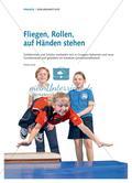 Flugrolle und Handstand in einer Mini-Turnkür Preview 1