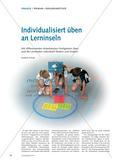 Individualisiert üben an Lerninseln Preview 1