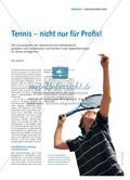 Tennis – nicht nur für Profis! Preview 1