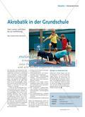 Akrobatik in der Grundschule Preview 1