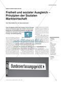 Freiheit und sozialer Ausgleich – Prinzipien der Sozialen Marktwirtschaft: Vier Rechtsfälle für die Sekundarstufe I Preview 1