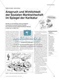 Anspruch und Wirklichkeit der Sozialen Marktwirtschaft im Spiegel der Karikatur Preview 1