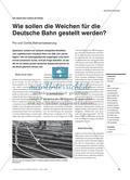 Wie sollen die Weichen für die Deutsche Bahn gestellt werden? - Pro und Contra Bahnprivatisierung Preview 1