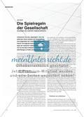 Die Spielregeln der Gesellschaft - Grundlagen der modernen Institutionentheorie Preview 1