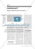 Machtverlust parlamentarischer Institutionen? - Die Rolle nichtstaatlicher Akteure in der Eurokrise Preview 1