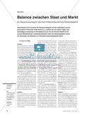 Staat und Markt in einer nachhaltigen Entwicklung: Ein Klausurvorschlag für das Fach Politik-Wirtschaft bzw. Wirtschaftslehre Preview 1