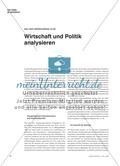 Wirtschaft und Politk analysieren Preview 1