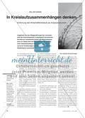 In Kreislaufzusammenhängen denken - Einführung des Wirtschaftskreislaufs als Analyseinstrument Preview 1