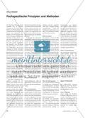 Fachspezifische Prinzipien und Methoden Preview 1