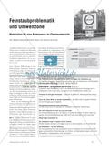 Feinstaubproblematik und Umweltzone - Materialien für eine Kontroverse im Chemieunterricht Preview 1