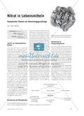 Nitrat in Lebensmitteln - Analytische Chemie als Bewertungsgrundlage Preview 1