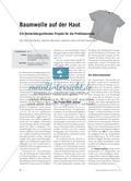 Baumwolle auf der Haut - Ein fächerübergreifendes Projekt für die Profiloberstufe Preview 1