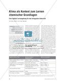 Klima als Kontext zum Lernen chemischer Grundlagen - Eine digitale Lernumgebung für den bilingualen Unterricht Preview 1