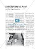 Ein Wasserkocher aus Papier - Eine Aufgabe mit gestuften Lernhilfen Preview 1