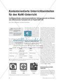 Kontextorientierte Unterrichtseinheiten für den NaWi-Unterricht Preview 1