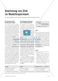 Gewinnung von Zink im Modellexperiment Preview 1
