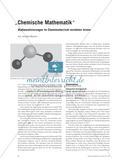 """""""Chemische Mathematik"""" - Mathematisierungen im Chemieunterricht verstehen lernen Preview 1"""