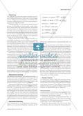 """""""Chemische Mathematik"""" - Mathematisierungen im Chemieunterricht verstehen lernen Preview 4"""