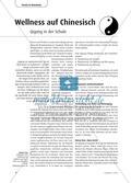 Wellness auf Chinesisch - Qigong in der Schule Preview 1