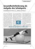 Gesundheitsförderung als Aufgabe des Schulsports - Fachdidaktische Notizen zu Wellness & Fitness Preview 1