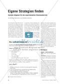 Eigene Strategien finden - Erprobte Aufgaben für den experimentellen Chemieunterricht Preview 1