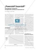 """""""Powerstoff Sauerstoff"""" - Sauerstoffhaltige Trendgetränke als authentischer Lernanlass im Chemieunterricht Preview 1"""