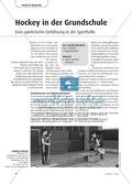 Hockey in der Grundschule - Eine spielerische Einführung in der Sporthalle Preview 1