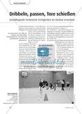 Dribbeln, passen, Tore schießen - Grundlegende technische Fertigkeiten im Hockey Preview 1