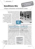 Konditions-Mix - Ausdauer, Kraftausdauer und Koordination schulen Preview 1