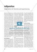 Adipositas - Möglichkeiten der Prävention und Gegensteuerung Preview 1