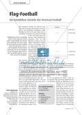 Flag-Football - Die kontaktlose Variante des American Football Preview 1