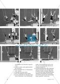 Durch die Sporthalle fliegen - Erste Kunststücke an Ringen und Trapezen lernen Preview 3