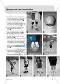 Medizin- und Tennisbälle - Eine vielseitige Übungssammlung Preview 2