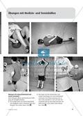 Medizin- und Tennisbälle - Eine vielseitige Übungssammlung Preview 4