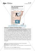 Infografik: Das Jahrespensum der Arbeitnehmer Preview 1