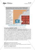 Infografik: Deutschland als Kunde auf dem Weltmarkt Preview 1