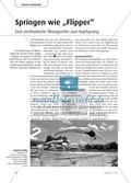 """Springen wie """"Flipper"""" - Eine methodische Übungsreihe zum Kopfsprung Preview 1"""