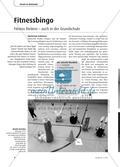 Fitnessbingo: Fitness fördern – auch in der Grundschule Preview 1