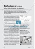 Joghurtbechertennis - Regeln finden, verabreden und verändern Preview 1