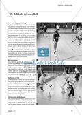 Dribbeln, Passen und Tore schießen im Spiel Unihockey Preview 2