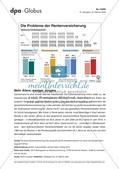Infografik: Die Probleme der Rentenversicherung Preview 1
