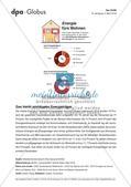 Infografik: Energie fürs Wohnen Preview 1