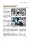 Burner Wrestling Handball - Ein fetziges Ballspiel für Mädchen und Jungen Preview 1