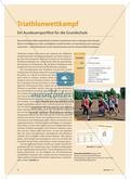 Triathlonwettkampf - Ein Ausdauersportfest für die Grundschule Preview 1