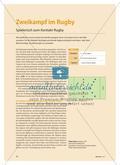 Zweikampf im Rugby - Spielerisch zum Kontakt-Rugby Preview 1