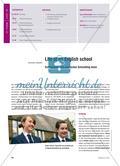 Life at an English school - Schülertexte zum englischen Schulalltag lesen Preview 1