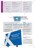 Scotland – Puzzle it out!: Vorträge zu Schottland üben und präsentieren Preview 1