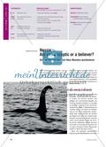 Nessie – Are you a sceptic or a believer?: Sich zur Existenz des Loch Ness Monsters positionieren Preview 1
