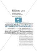 Generisches Lernen - Muster und Strukturen der sprachlichen Interaktion erkennen und anwenden Preview 1