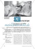 The Day After the Oil Spill - Sprechaufgaben für den bilingualen Biologieunterricht stellen Preview 1